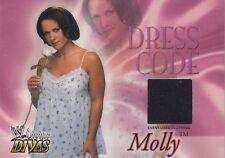 MOLLY HOLLY 2003 WWE Divine Divas Dress Code EVENT WORN PANTS *Ultra Rare!*