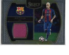 2016-2017 Panini Select Football Memorabilia Jersey Card -  Neymar