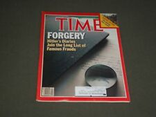 1983 MAY 16 TIME MAGAZINE - HITLER'S FORGED DIARIES - T 2551