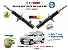 FOR SUBARU JUSTY 1.3 1.5 AWD 2003-> 2 X FRONT LEFT + RIGHT SHOCK ABSORBER SET
