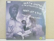 """Martin Campbell & Hi Tech Roots Dynamics-Meet Hot Rich Remixed 10"""" LP NEW Reggae"""