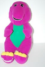 Talking Barney Plush 1996 Vintage Playskool Hasbro Barney 71245 Tested Works
