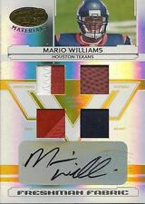 2006 Leaf Certified Materials Mirror Gold #205 Mario Williams Autograph 14/25