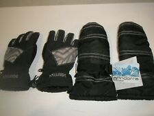 WOMENS MARMOT INSULATED GLOVES & ANDORRA WATERPROOF MITTENS SIZE SMALL S
