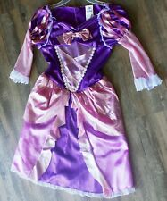 Disney Authentic Tangled Rapunzel Princess Costume Dress Size Small 4-6x