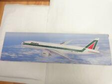 FLIGHT MINIATURES 1:200 ALITALIA AIRLINES BOEING 777-200 AIRCRAFT PLASTIC PLANE