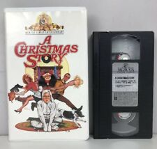 A Christmas Story (Vhs, 1995) Video Tape Mgm M505427 Clamshell Case Nearly New