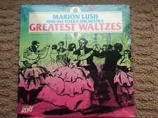 "MARION LUSH   ""Greatest Waltzes""   NEW SEALED POLISH POLKA LP"
