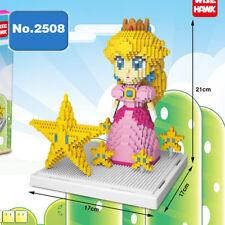 Baustein Peach Princess Modell Star DIY Spielzeug Gebäude Figur Cartoon OVP