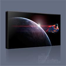 SUPERMAN CLASSIC Christopher Reeve iconica Tela arte stampa quadro arte Williams