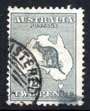 Australia: 1913 Roo 2d SG 3 used