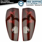 Tail Lights Taillamps LH RH Pair Set For 2004-2012 Chevrolet Colorado GMC Canyon