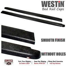 72-40621 Westin Black Bed Rail Caps Ford Ranger 6' Bed 1993-2011