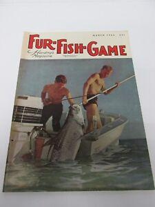 1964 Fur - Fish - & Game Magazine - A Nice Sportsman's Piece.