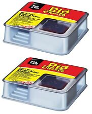 2 x Indoor Ready Baited Poison Mouse Block Bait Killer Station Box Pest Rodent