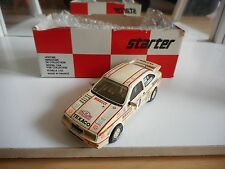 Starter Ford Sierra Cosworth Rally Monte Carlo 1987 in White on 1:43 in Box