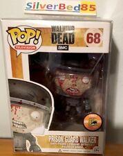 Funko Pop The Walking Dead Prison Guard Walker SDCC 2013 68 Rare NIB 1008 Bloody