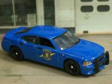 6th Gen 2006–2010 Dodge Charger MICHIGAN STATE POLICE 1/64 Scale Limited Edt ZZ7