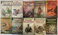 Edgar Rice Burroughs: 10 x paperback titles