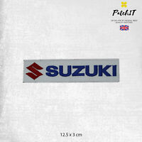 Suzuki Motor Car Brand Logo Patch Iron On Patch Sew On Badge Embroidered Patch