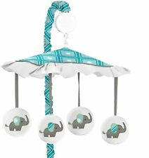 Baby Crib Musical Mobile Elephant Hanging Decor Nursery Room Bed Accessory Toy