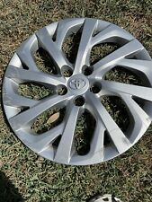 2017 2018 2019 Toyota Corolla Silver 16 Hubcap Wheel Cover Oem 4260202520 Vg