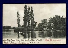 STENGEL & CO UNDIVIDED BACK POSTCARD - IFFLEY MILL, OXFORD - POSTED 1903