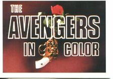 The Avengers In Colour Series 2 Complete 98 Card Base Set