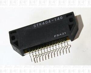 STK404-140 One Channel Class AB 120 Watt Audio Amplifier IC