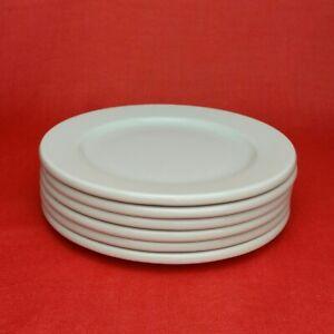 6x Arzberg Cult Weiß Brotteller Kuchenteller Frühstücksteller 17.5 cm Porzellan
