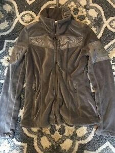 pikeur jacket brown velour size small