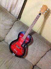 Vintage Framus Studio 5 51 Archtop Acoustic Guitar Red Burst Germany