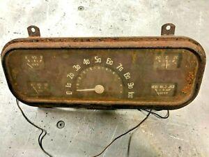 1937 1938 Chevy Coupe Sedan Vintage Original Instrument Gauge Cluster