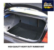 BLACK HEAVY DUTY RUBBER BOOT MAT/PROTECTOR LINER FOR DACIA SANDERO STEPWAY 13-ON