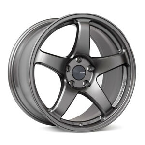 ENKEI PF05 17x7.5 Racing Wheel Wheels 5x100 5x112  DARK SILVER