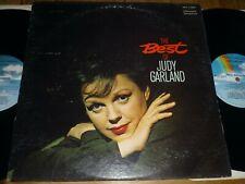double lp  Judy Garland - The Best Of Judy Garland  us