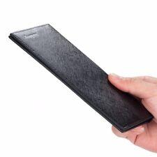 RFID Blocking Genuine Leather Wallet Long Bifold Card Slot Wallet Men Women Gift