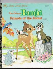 Little Golden Book Walt Disney's Bambi Friends of the Forest