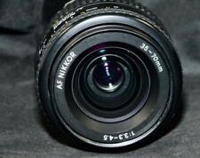 Nikon Af 35-70mm f/3.3-4.5 Nikkor Wide Zoom Ais Slr Film Digital Camera Lens