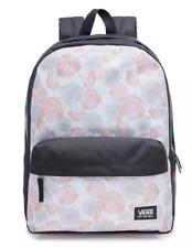 Vans School Bag Realm Backpack poppy flower pink Casual Rucksack laptop womens