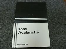 2005 avalanche owners manual