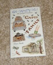 Colorbok Sticker Sheet ~ Susan Branch....Camping