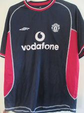 Manchester United 2000-2001 Away Football Shirt Size Large /35598
