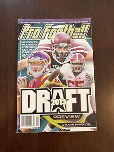 Pro Football Weekly 20013 Draft Preview by Nolan Nawrocki
