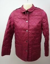 Burberry Mini Pirmont Quilted Fritillary Pink Coat Jacket Size 12 Year Old