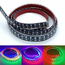 4FT/1.2M Double Row Dream Color Chasing Lights Strips x4PCS Fit For 15.5'' Wheel