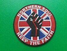 MOD SCOOTER SKA NORTHERN SOUL SEW / IRON ON PATCH:- DETAILS TO FOLLOW
