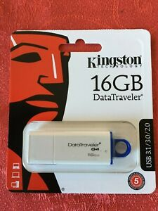 16GB Flash Drive Kingston DataTraveler G4 USB 3.1 Gen 1 / USB 3.0 Memory stick