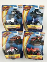 Nickelodeon Blaze and the Monster Machines Die Cast Monster Trucks Set of 4 Toys