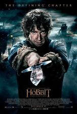 THE HOBBIT 3 BATTLE OF THE FIVE ARMIES MOVIE POSTER 2 Sided ORIGINAL FINAL 27x40